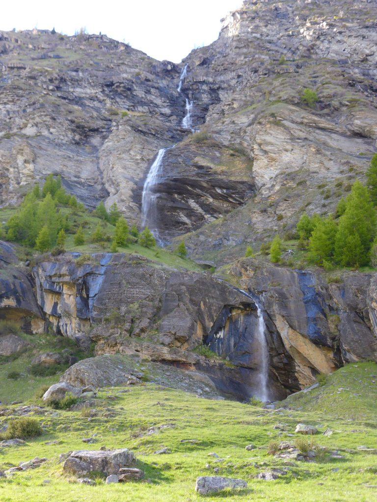 Cascades de la vallée du Fournel