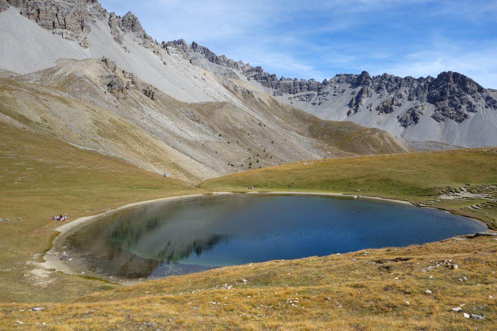 Rando Queyras: le lac du Soulier balade facile