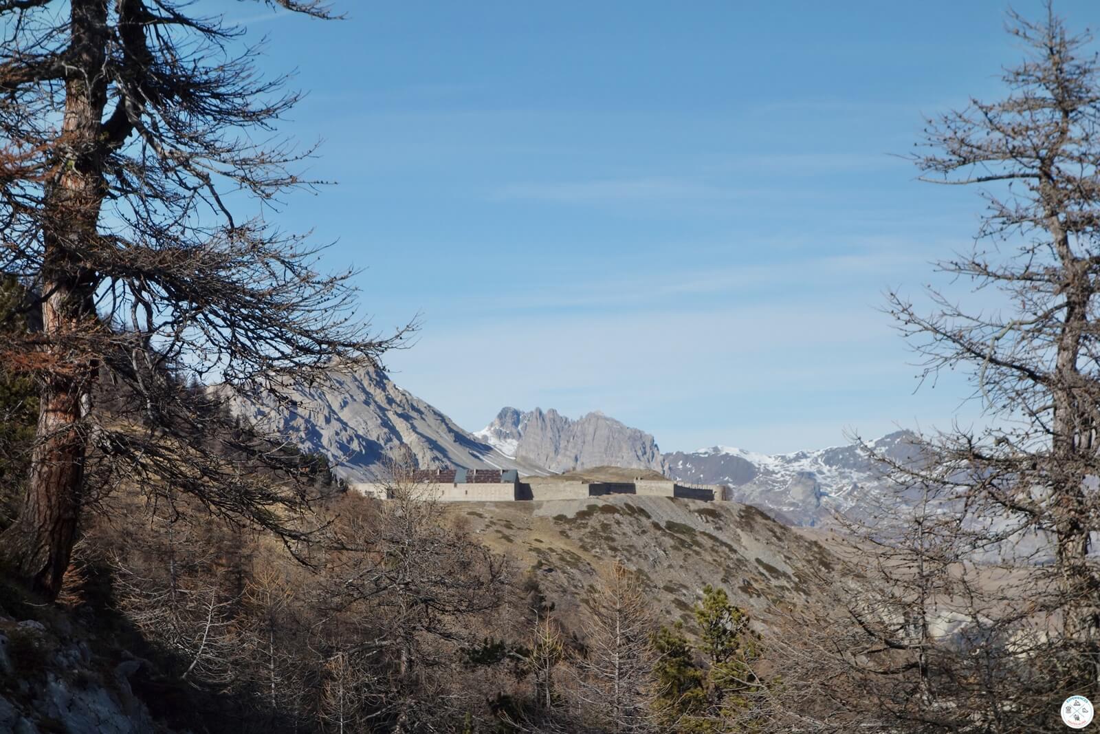 Randonnée Fort Olive Vallée Clarée Hautes Alpes