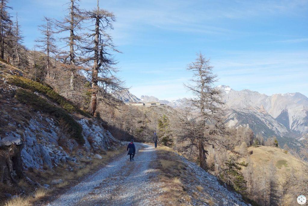 Fort de l'Olive randonnée facile Vallée de la Clarée