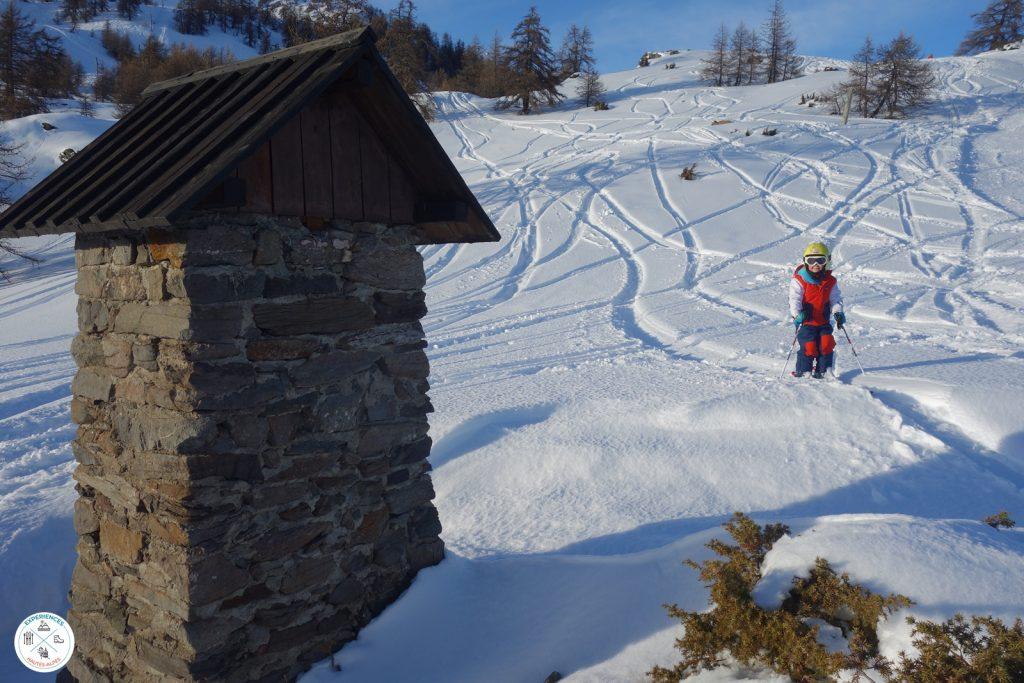 Secteur débutant Serre Chevalier station de ski