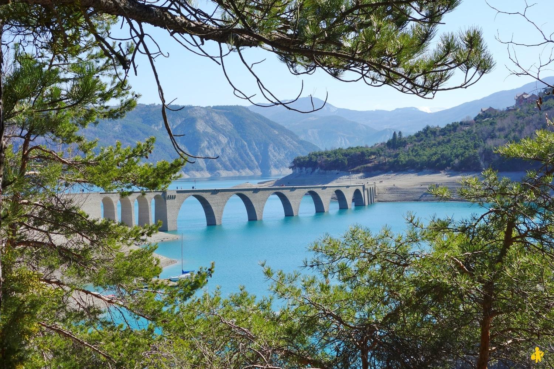Randonnée baie Chanteloube Serre Ponçon