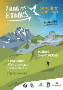 Animation juillet Hautes-Alpes Trail des Etoiles Queyras